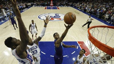 Clemson Mba Salary by Hornets Hold 76ers To Sweep Back To Back Set