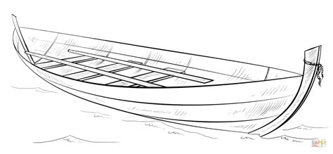 moana boat drawing row row row your boat coloring page coloring home