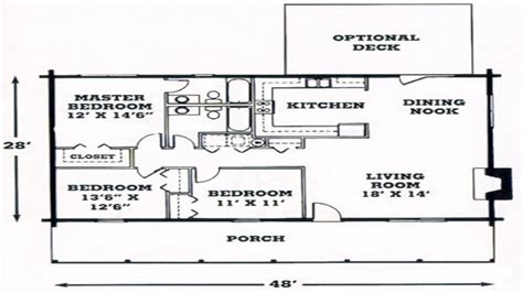 Single Level Log Home Plans | single level log homes single story log home floor plans
