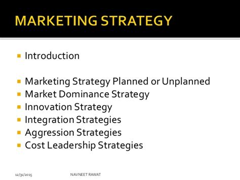 Mba Notes On Marketing Strategies by Mba Notes Marketing