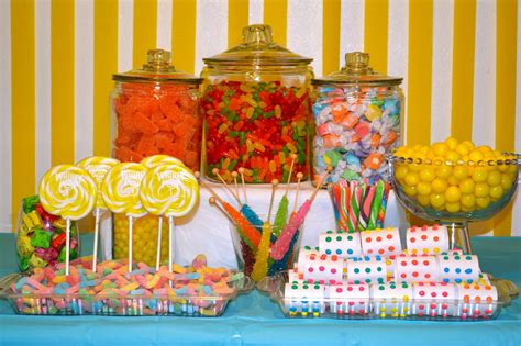 A Dose Of Serendipity Candy Buffet
