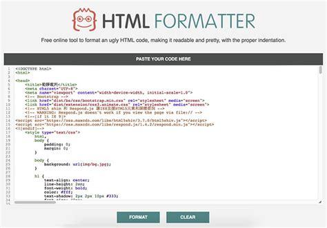 format html code javascript html formater 打開瀏覽器 一鍵將html javascript css 原始碼重新編排 梅問題 教學網