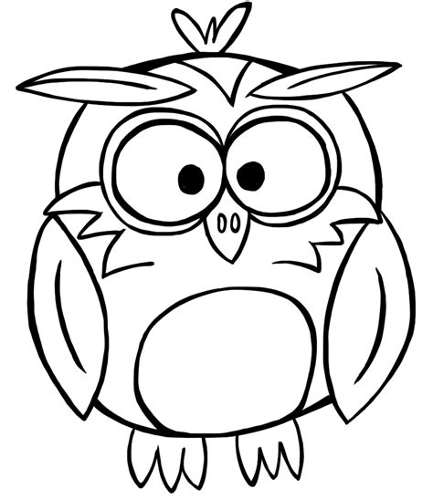 Owl Image Outline by Owl Outline Clip Clipart Best