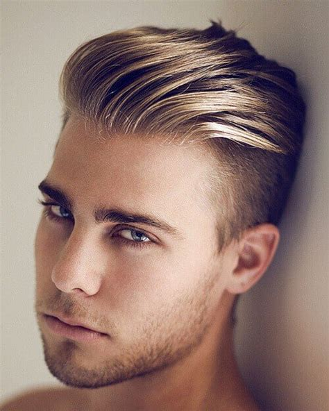 haircuts for blonde males blonde men hairstyles