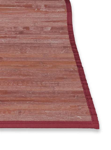 tappeto bamboo tappeto in legno vintage ad effetto antichizzato ma