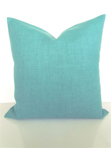 green throw pillows canada items similar to turquoise pillows solid turquoise mint