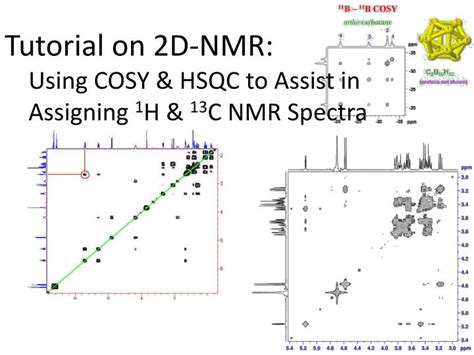 Nmr Tutorial Powerpoint | ppt tutorial on 2d nmr using cosy hsqc to assist in