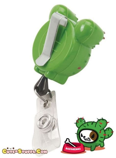 Character Holder Monkey kawaii koi tokidoki retractable id badge reel
