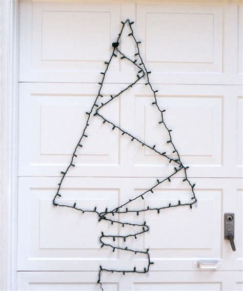 how to make a tree out of lights outdoor decorations c r a f t