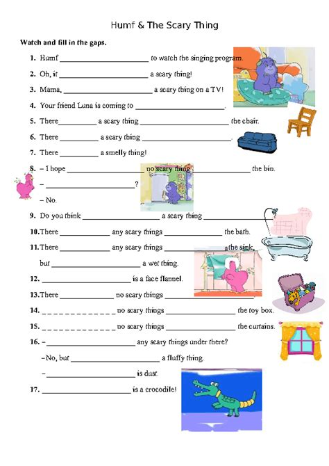 Kids Bedroom Furniture 271 free house flat rooms worksheets