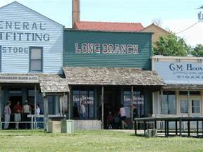 Kansas Dodge City Dodge City Ks Longbranch Saloon Photo Picture Image
