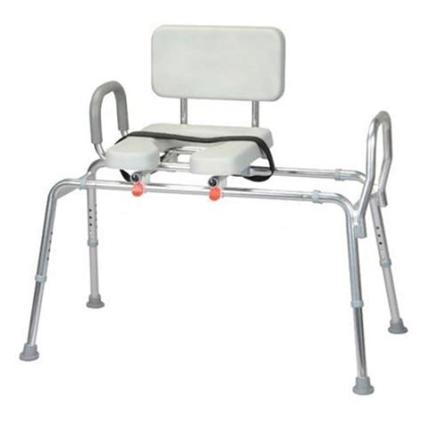 sliding transfer bench for bathtub eagle sliding bath tub transfer bench with padded seat