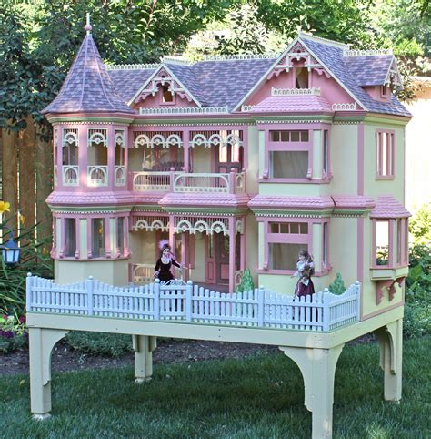 barbie house plans victorian barbie 174 house woodworking plan forest street designs