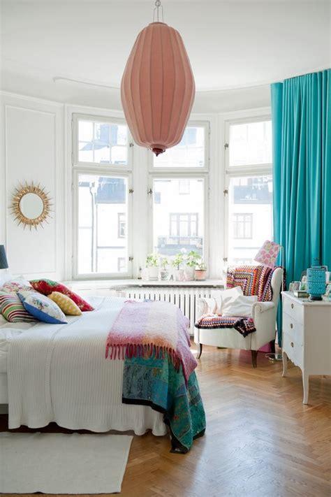 vorhange schlafzimmer turkis vorh 228 nge t 252 rkis lassen sie jeden raum edel aussehen
