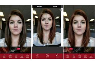 app to try hair color virtually try before you buy vidal sassoon hair colors