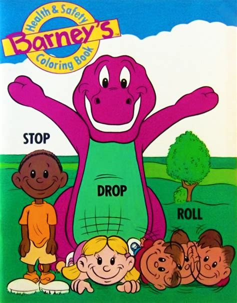 Barney's Health & Safety Coloring Book   Barney Wiki
