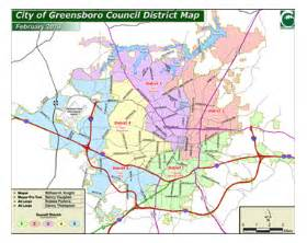 map of greensboro carolina city of greensboro nc records management