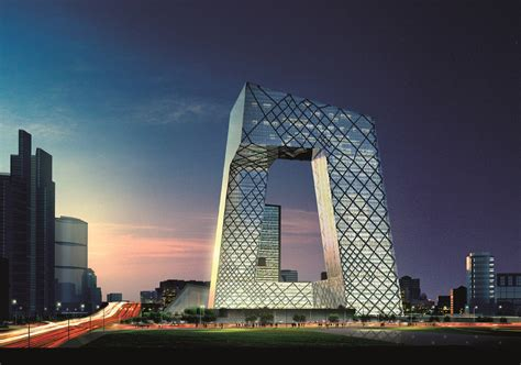 architect in chinese cctv headquarters rem koolhaas