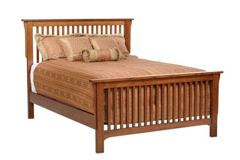 amish headboards american made mission slat bed
