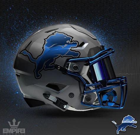design football helmet logo detroit lions concept design football helmet football
