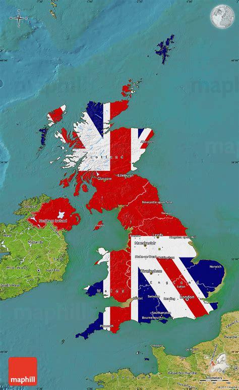 uk map map of uk united kingdom world map flag map of united kingdom satellite outside