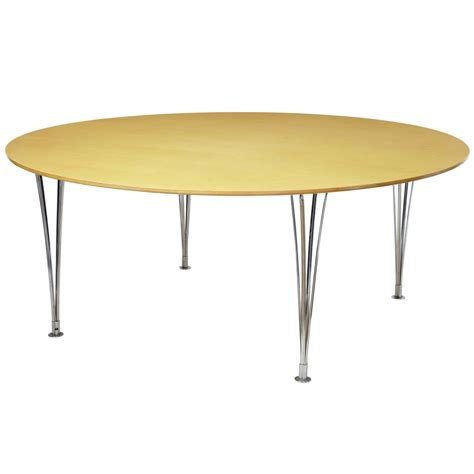 Birch Dining Table Large Bruno Mathsson Birch Dining Table For Sale At 1stdibs