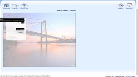 xibo layout design papan informasi digital dengan aplikasi xibo dennisa aliffa