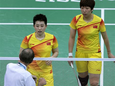 olympic badminton teams disqualified for throwing matches cbs news