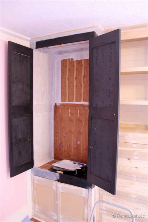 How To Assemble Wardrobe Box by Remodelaholic Built In Closet Hack