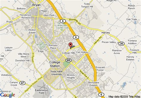 texas college map map of homewood suites college station college station