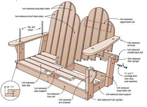 patio swing plans how to alter regular porch swing plans for a unique porch