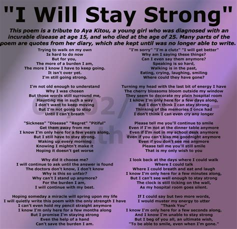 poems your staying strong quotes and poems quotesgram
