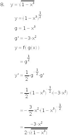 Free Online Calculator by Free Math Lessons Online To Learn How To Derivate Functions With Square Roots