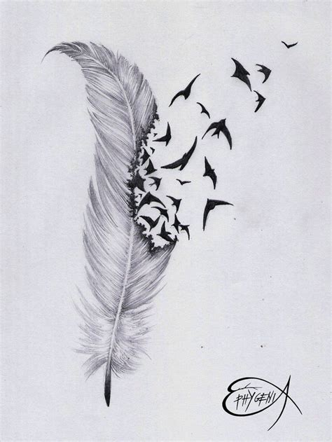owl feather tattoo designs best 25 feather bird tattoos ideas on feather