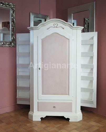 armadio rosa armadio scarpiera sagomato artigianarte