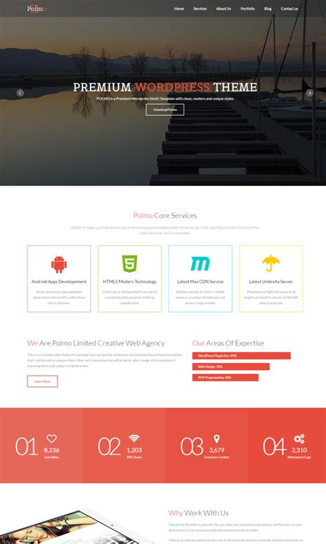 30 Bootstrap Website Templates Free Download Home Page Template