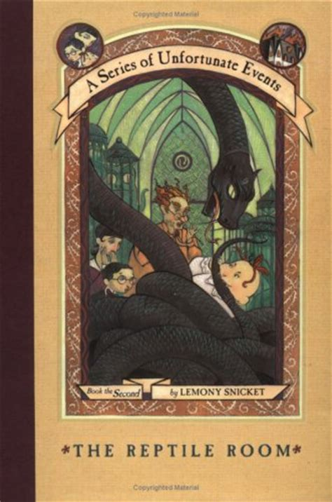 lemony snicket picture book 272 a series of unfortunate events the reptile room by