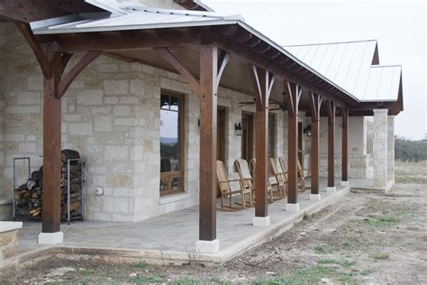 hybrid hill country home timber frame residential project photo gallery