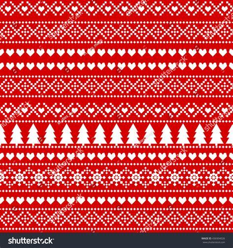 christmas jumper tree decorations pattern seamless christmas background card scandinavian sweater