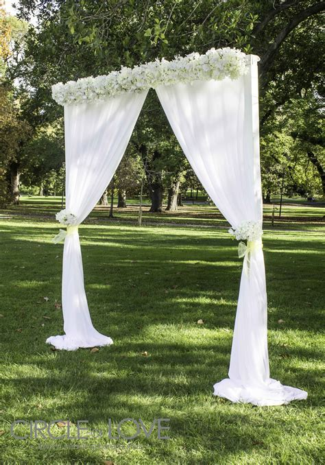 Garden Wedding Arch   Wedding Flowers   Wedding ceremony