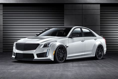 Cadillac Cts Kit by 1000hp 2016 Cadillac Cts V Hennessey Kit Announced