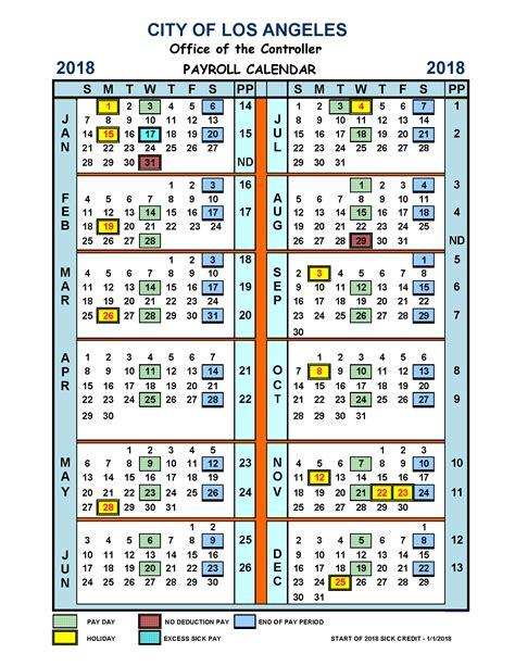 weekly pay calendar  payroll calendars