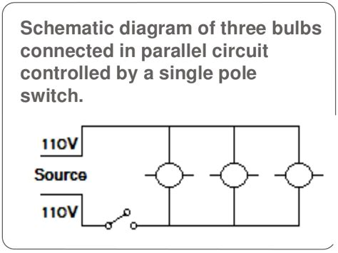 parallel circuit diagram of a switch with a switch wiring