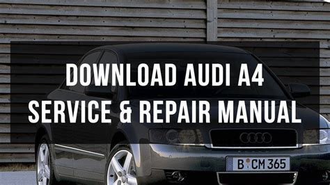 service repair manual free download 1998 audi riolet on board diagnostic system download audi a4 service repair manual youtube