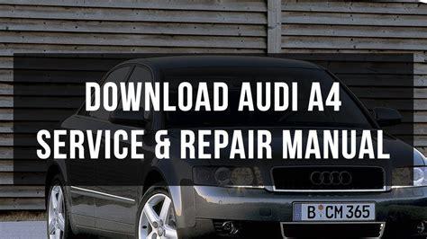 masina service piese manual audi a4 b7 download audi a4 service repair manual youtube