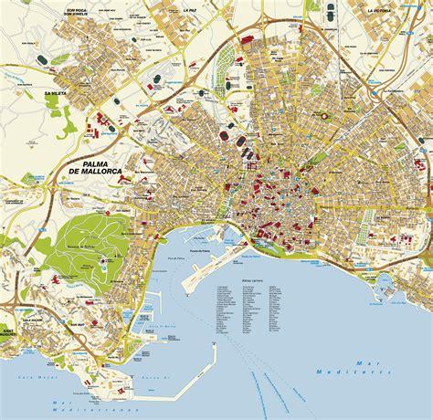P Alma Large large palma de mallorca maps for free and print