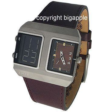 Fosil Dual Analog fossil jr9989 691464298579 fossil analog and
