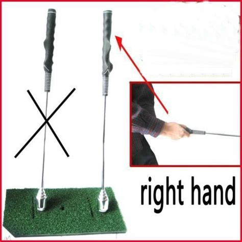 golf swing right or left hand dominant a99 golf right left hand warm up golf stick swing trainer