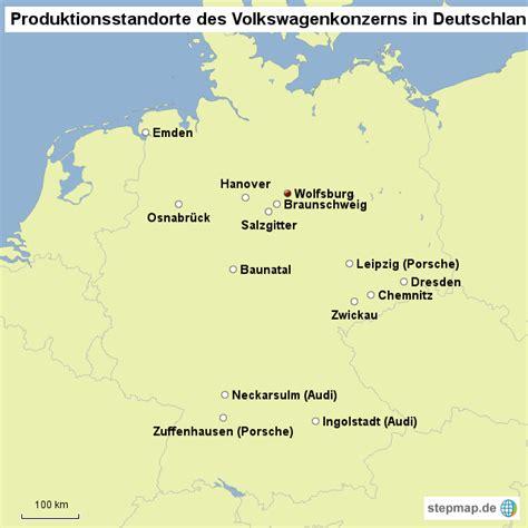 Porsche Produktionsstandorte by Vw Standorte In Deutschland Sebastiankoehler