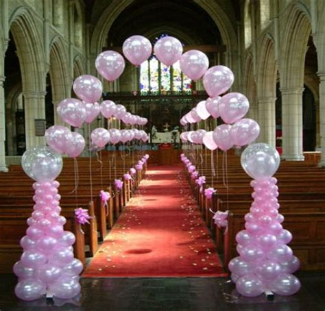 Balloon Decoration For Wedding Reception by The Wedding Collections Wedding Table Balloons Decorations